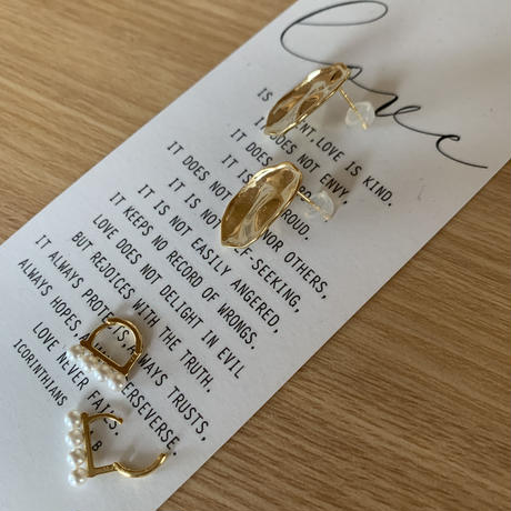 [silver925] design pierce  [ACC20AW268]