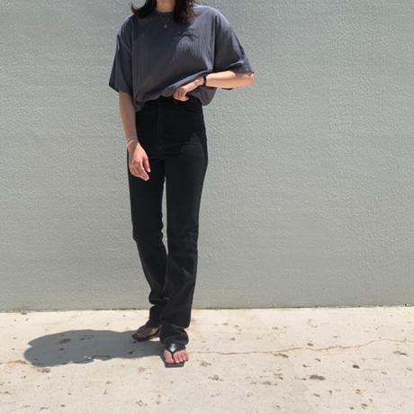 color straight denim pants (2color)[BT21SS748]