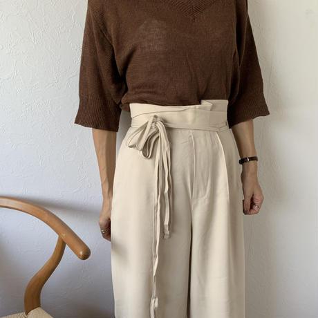 west design straight pants[BT20AW471]