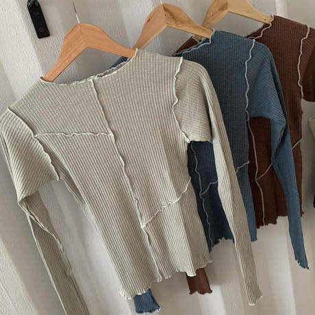 switching mellow tops (3color)[TOP20AW490]