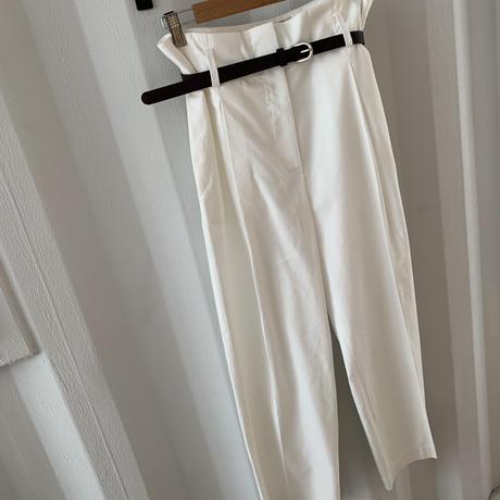belt set high-waist pants  [PT20SS318]