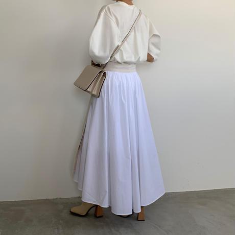 layered design skirt [BT20SS312]