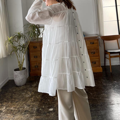 tiered frills tunic (3color) [21SS-FL-03]