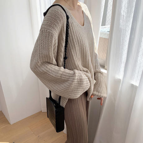 summer knit (2color) [TOP20SS310]