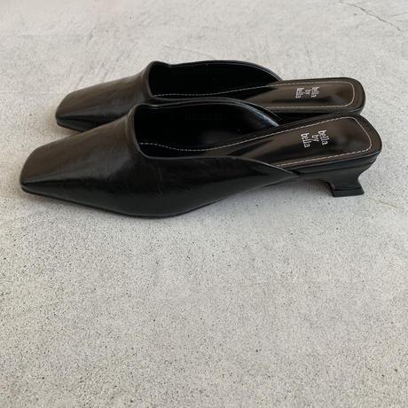 square toe mule (2color)