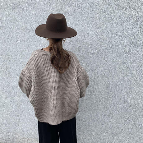 wool hat (3color)  [ACC19AW0131]