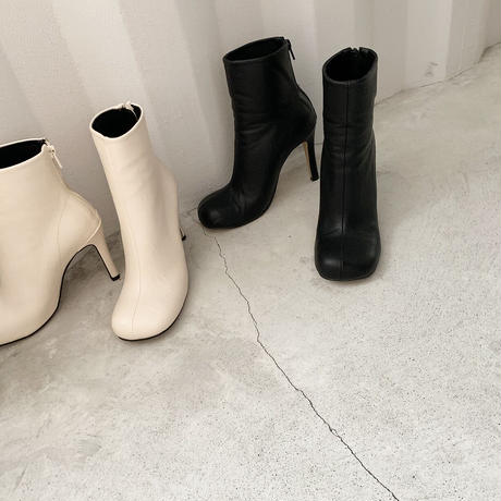 roundtoe heal boots (2color)