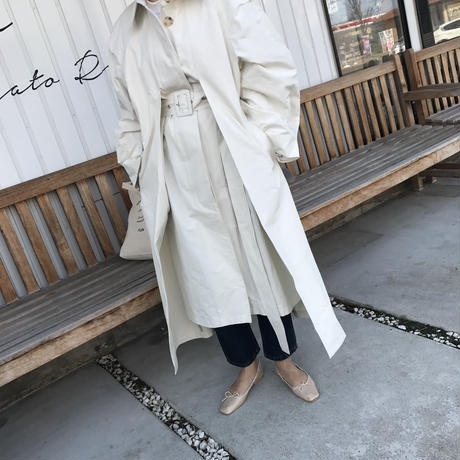 convertible collar coat (2color)