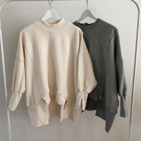 oversize design sweat (2color)