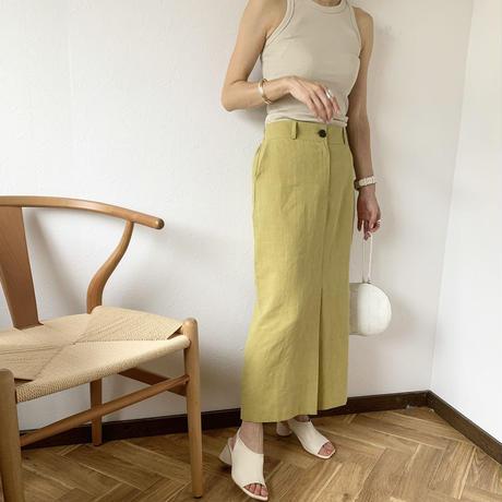 linen tight skirt (2color) [BT20SS415]