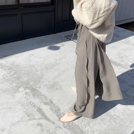 apron design pants (2color) [BT19AW0159]