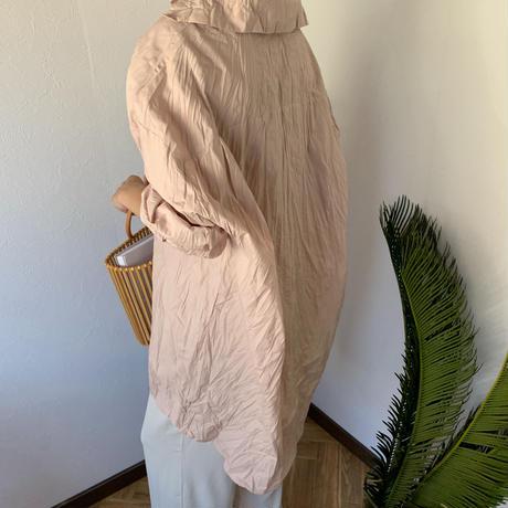 wrinkles long shirt (2color)[SH20SS361]