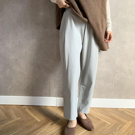 mint color relax   pants [BT19AW0163]