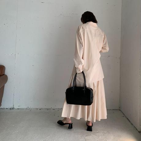 simple flare medi skirt (4color) ◇setup可[BT21SS632]