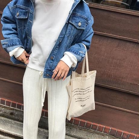 standard denim jacket (2color)