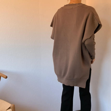 french sleeve knit best (3color)[TOP20AW481]