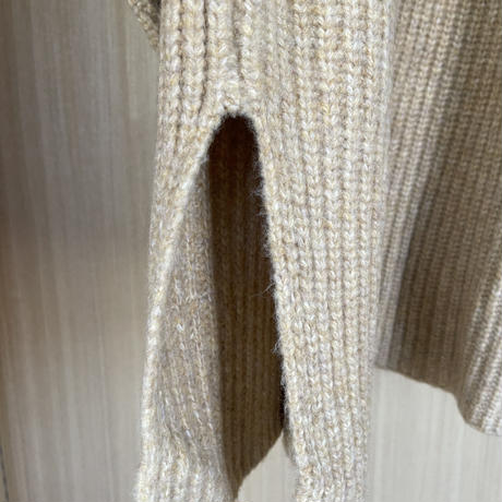 volume turtle long knit (3color)[FL2121]
