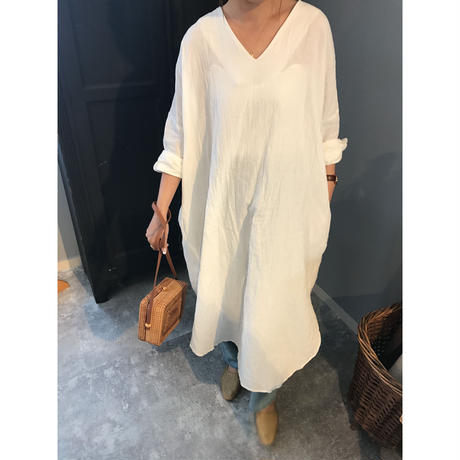 oversize linen blend one-piece (2color)