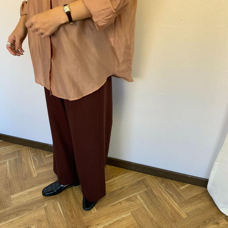 straight wide pants 3color  [BT19AW0194]