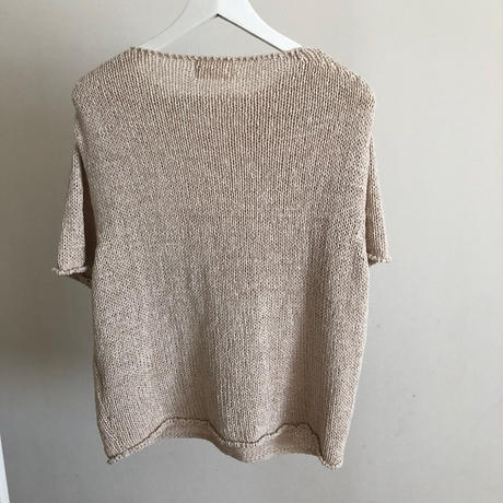 summer knit t-shirt