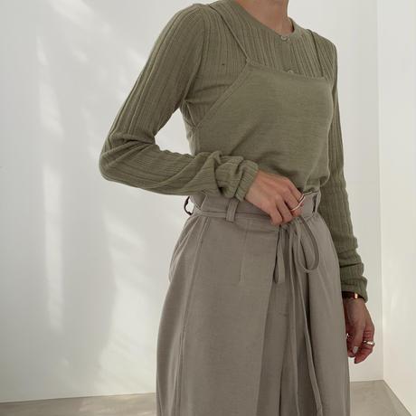 waste design pants (2color)[BT20AW524]