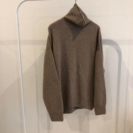 oversize turtle knit