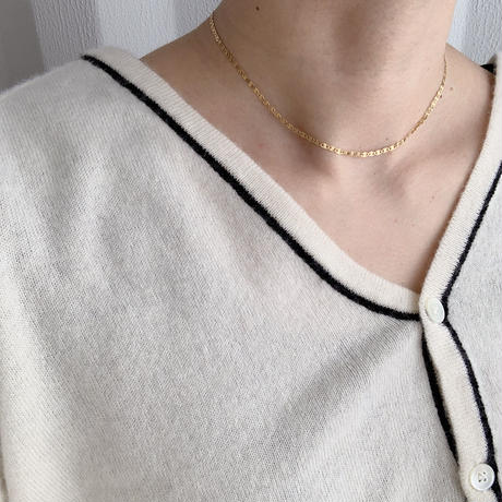 [silver92] short necklace (3type) [ACC20AW604]