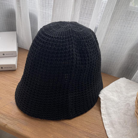 paper bucket hat (2color)