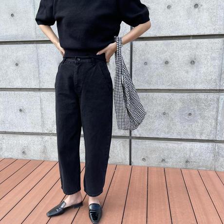 black denim pants [BT21SS669]