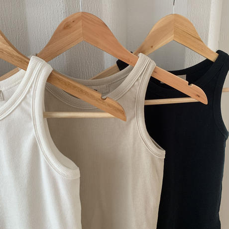 American sleeve tank top (3color) [TOP20SS412]