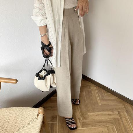 linen slacks pants(3color) [BT20SS392]