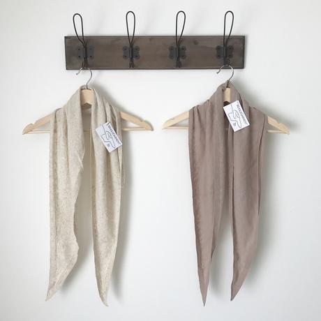 linen knit scarf (2color)