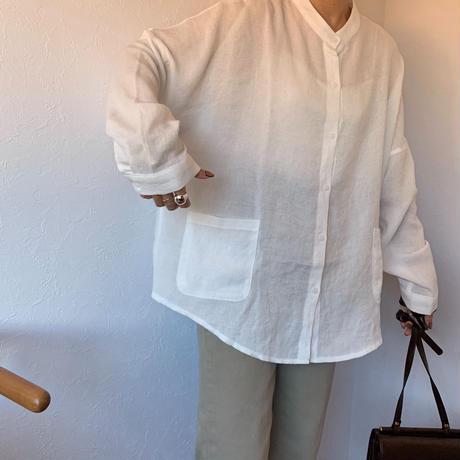 nocolor oversize shirt (2color)[TOP20AW476]