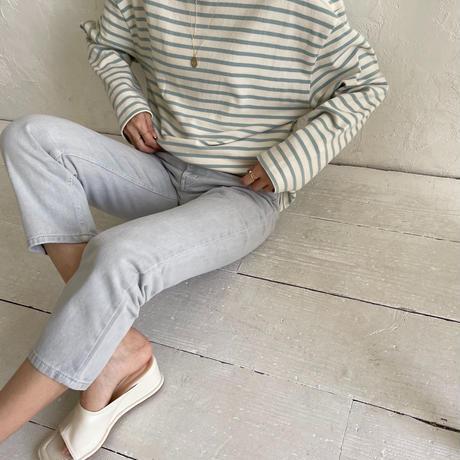 light color denim pants (4color)[BT21SS635]