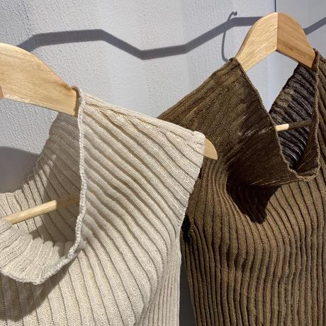 rib Knit(2color) [TOP20SS418]
