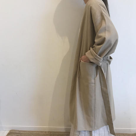 cotton robe (2color)