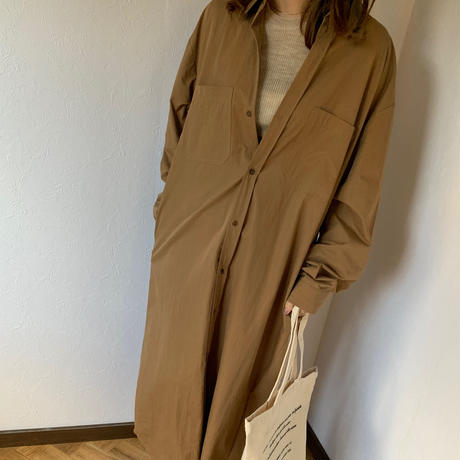vintagelike shirt one-piece (2color)  [OP19AW0156]