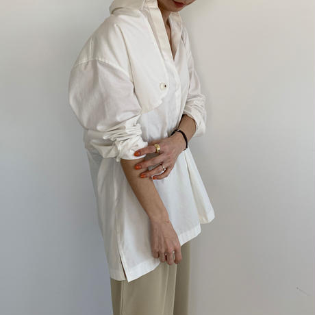 trench design shirt (2color) [TOP20SS306]