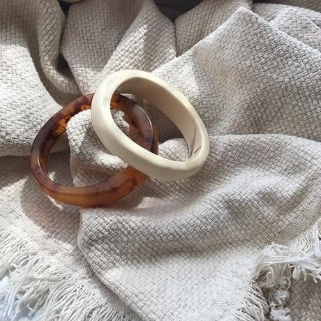 marble bangle (2color)