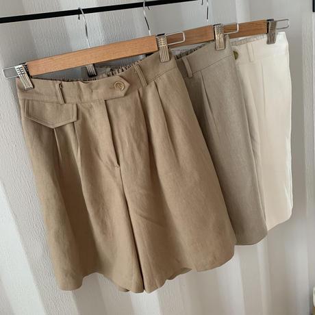 pocket half pants (3color)[BT20SS414]
