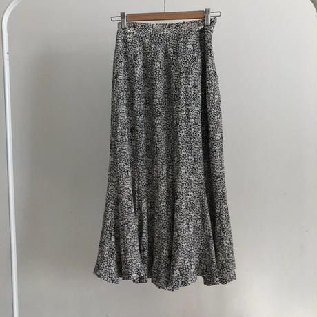 little flower flare skirt
