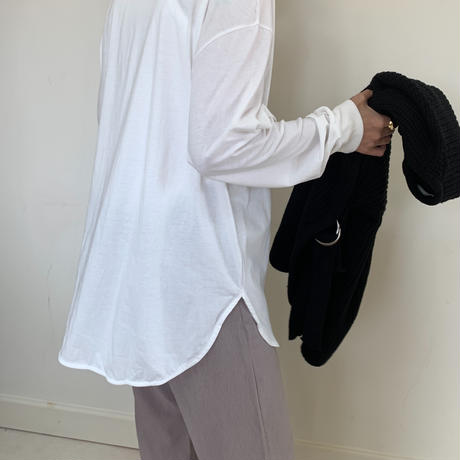 simple long t-shirt [TOP20SS285]