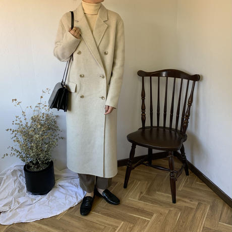 Merino wool hand made coat (3color) [OU20AW222]