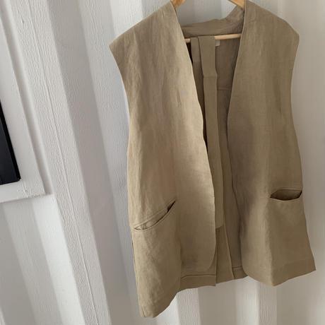 linen long best [TOP20SS404]