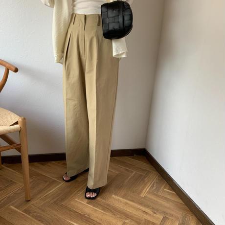 straight chino pants[BT20SS422]