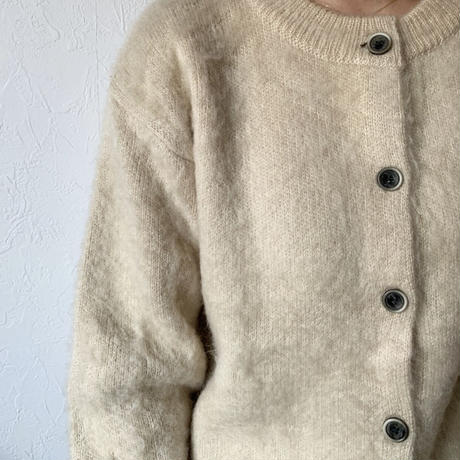 mohair touch knit  cardigan(2color)[TOP20AW555]