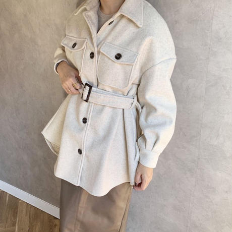 cpo belt jacket [OU19AW0170]