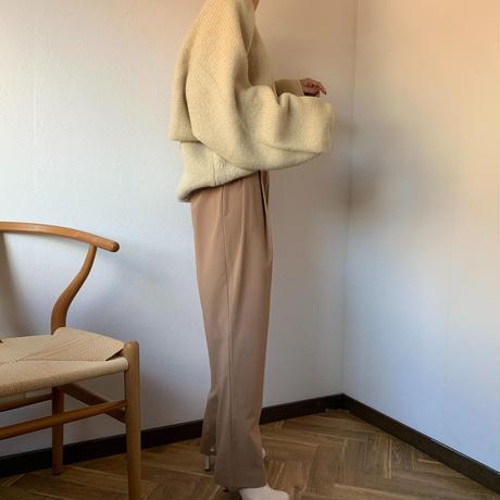 pintuck slacks pants[TOP20AW495]