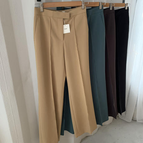 wide color slacks (4color) [BT19AW0088]