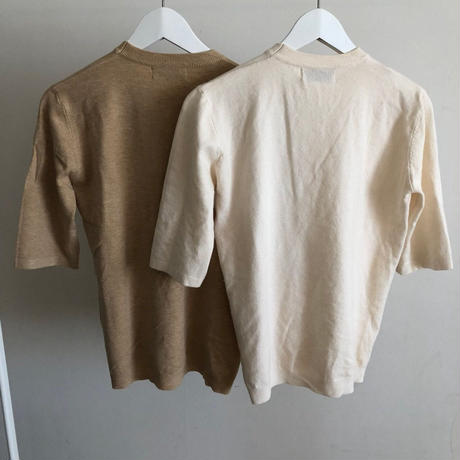 fake button knit (2color)